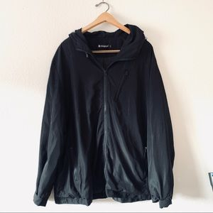 BOGO Allegra K Black Zip Up Jacket
